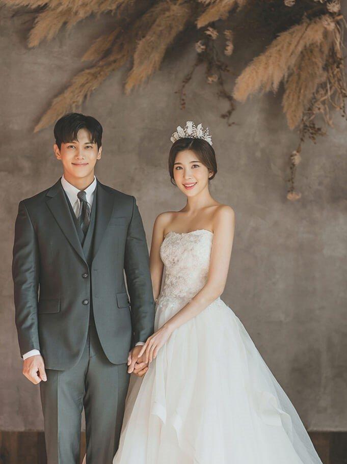Trang phục chụp ảnh cưới Hàn Quốc