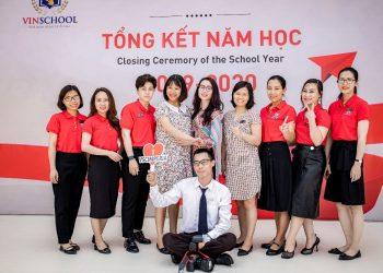 Chụp ảnh trường Tiểu học Trung học cơ sở Vinschool Imperia Hải Phòng