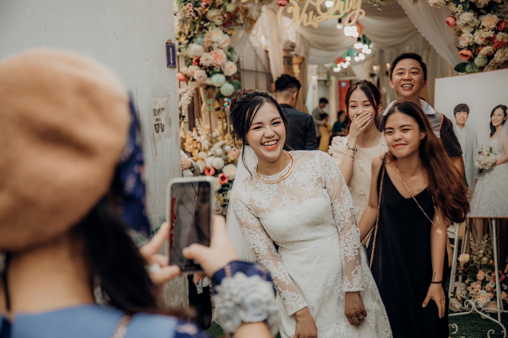Kịch bản quay phóng sự cưới sáng tạo cho hôn lễ của đôi bạn 2