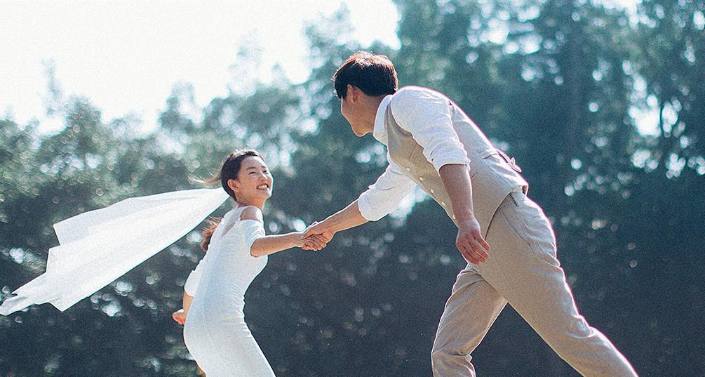 Mê mẩn với phong cách chụp ảnh cưới tự nhiên 1