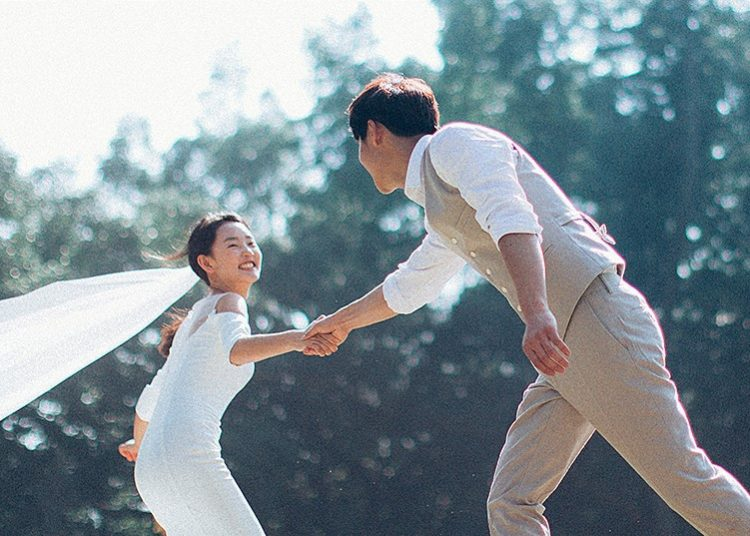 Mê mẩn với phong cách chụp ảnh cưới tự nhiên