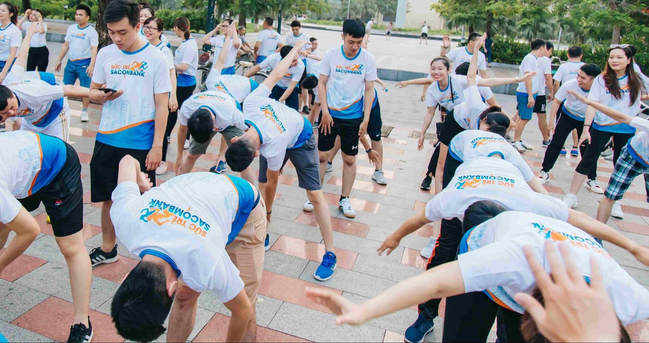 Chụp ảnh sự kiện Sức trẻ Sacombank Hải Phòng