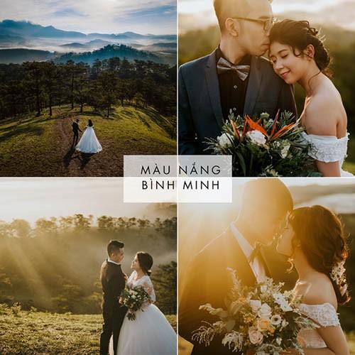 Tone màu ảnh cưới đẹp cho các cặp đôi tham khảo trước khi quyết định chụp 5