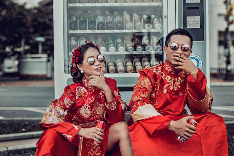 Xu hướng chụp ảnh cưới cổ trang 2020 3
