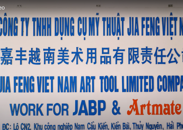 Chụp ảnh Hải Phòng tự hào là đơn vị quay video TVC giới thiệu doanh nghiệp Jia Feng Việt Nam